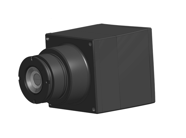 infrared camera with optics