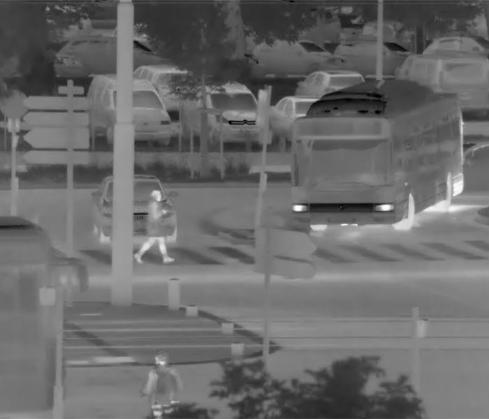 As for monitoring heterogenous traffic, thermal imaging can be a precious camera type reducing overall system costs, increasing reliability and ignore bad visibility due to a lack of light, even to long distances.