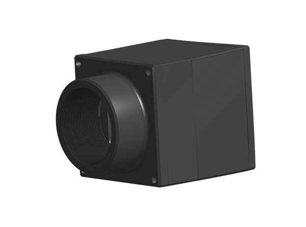 encased module with lens holder for infrared camera
