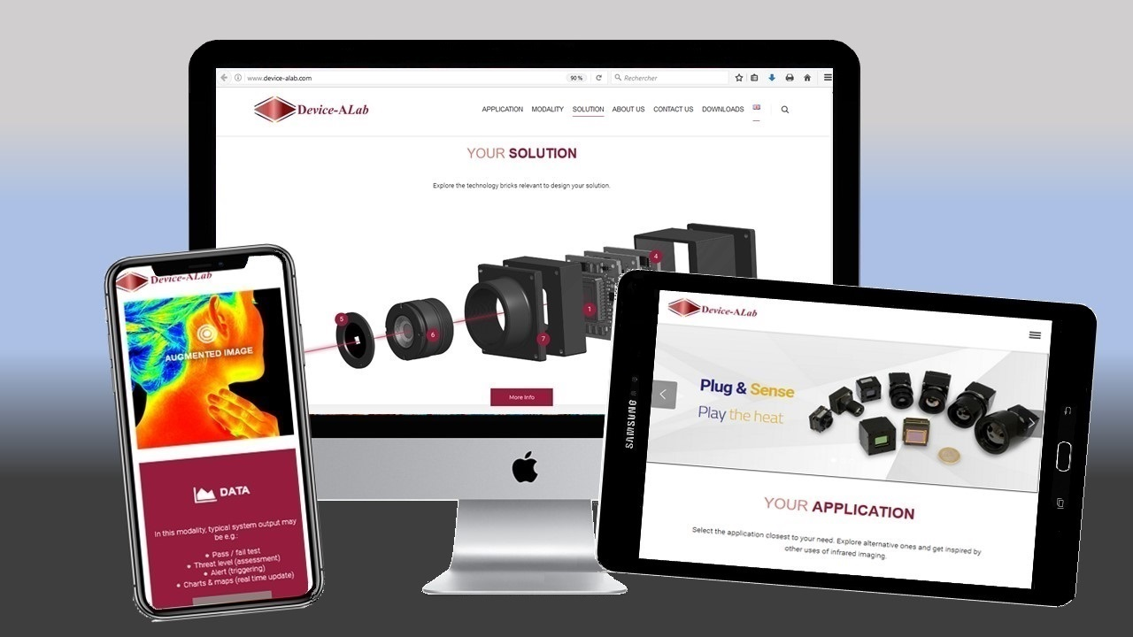 DEVICE-ALAB BRAND NEW WEBSITE TO REFLECT UPDATED STRATEGIC POSITIONING IN INFRARED CAMERA CORES